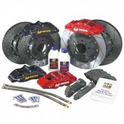Zestaw hamulcowy AP Racing AUDI RS4 B5 2000 (tył 4tłoczkowy)