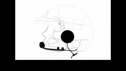 Zestaw słuchawkowy Zero Noise VALIANT do kasku otwartego