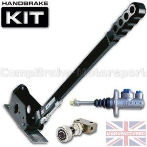 Hydrauliczny hamulec ręczny Compbrake Sportline 600mm z pompą AP Racing i korektorem siły hamowania