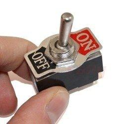 Przełącznik dźwigienkowy ON/OFF 20A RRS