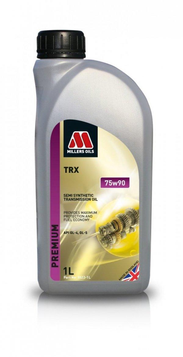 Olej przekładniowy półsyntetyczny Millers Oils TRX 75w90 1l