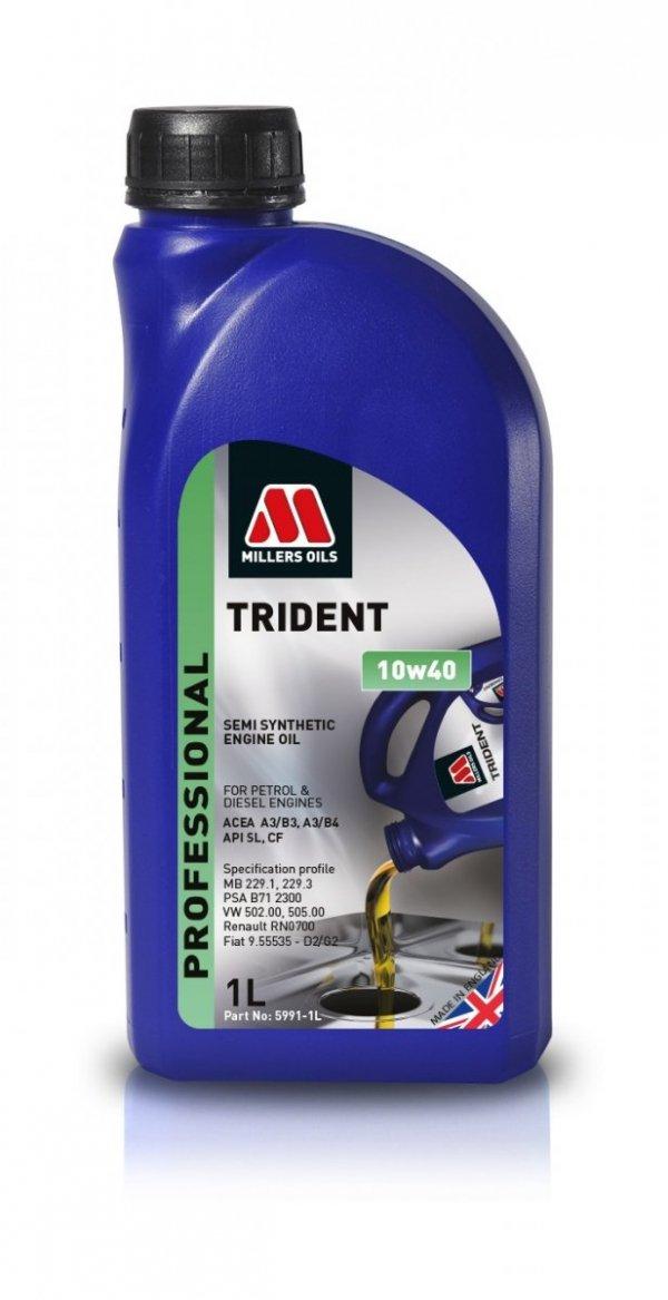 Olej Millers Trident 10w40 1l