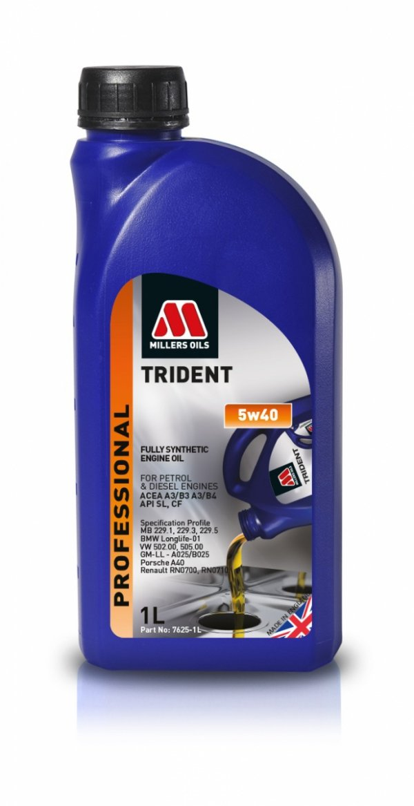 Olej Millers Trident 5w40 1l