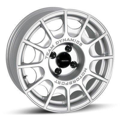 Felga Team Dynamics PRO RALLY  7x15 srebrna