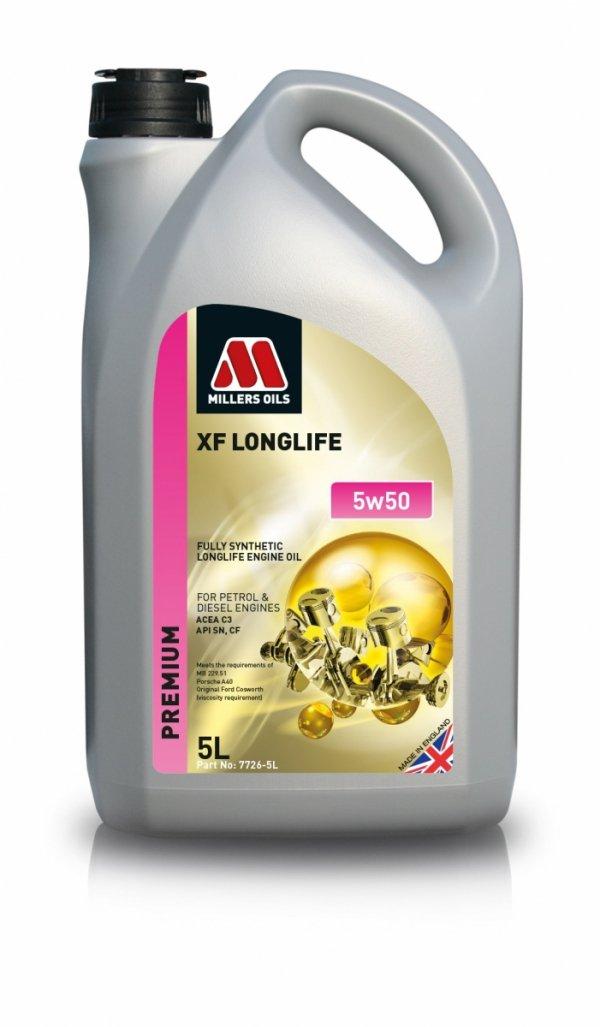 Olej Millers Oils XF Longlife 5w50 5l