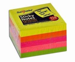 KARTECZKI SAMOPRZYLEPNE 50X50 NEON 400S 13223