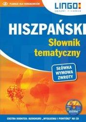 HISZPAŃSKI SŁOWNIK TEMATYCZNY KSIĄŻKA + CD