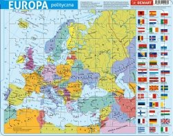 PUZZLE RAMKOWE EUROPA ADMINISTRACYJNA