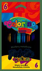 MARKERY COLORINO KIDS METALIZOWANE 6 KOLORÓW