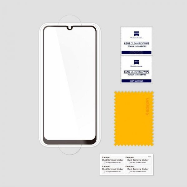 Szkło Hartowane Spigen Glass Fc Galaxy A40 Black