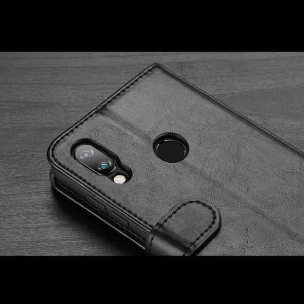 Dux Ducis Kado kabura etui portfel pokrowiec z klapką Xiaomi Redmi Note 7 czarny