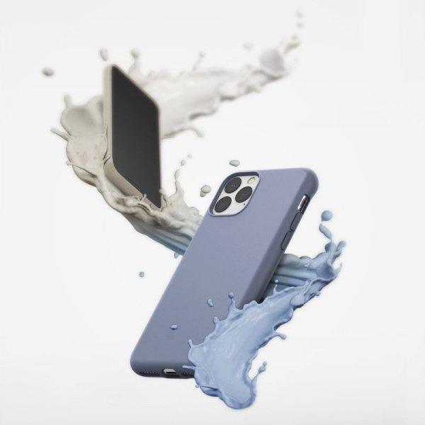 Ringke Air S ultracienkie żelowe etui pokrowiec iPhone 11 Pro Max niebieski (Lavender Gray) (ADAP0017)
