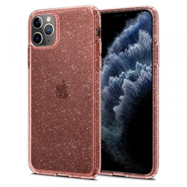 Etui Spigen Liquid Crystal Iphone 11 Pro Glitter Rose