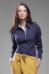 Koszula K36 Kratka/Navy blue