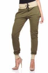 Spodnie Damskie Model MOE141 Khaki