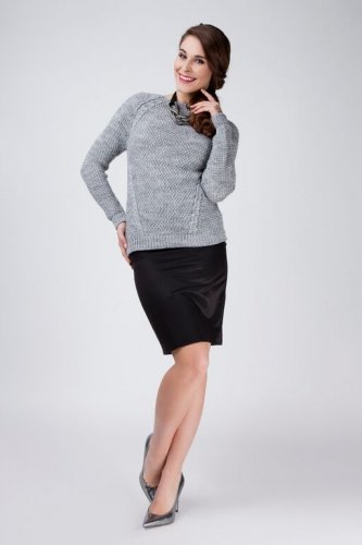 Sweter Damski Model Anastazja Grey