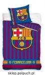Pościel Barcelona 160x200 100% bawełna Carbotex FCB 182013 Piłka Nożna