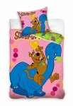 Pościel Scooby-Doo 160x200 100% bawełna Carbotex SD 8013