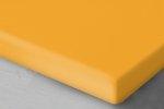 Brzoskwiniowe prześcieradło Jersey z gumką 160x200 Oritex 100% bawełna