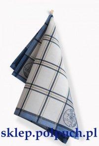 Ściereczka kuchenna Zwoltex Czapla - Holandia Niebieska - 50x70 cm 100% bawełna