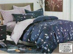 Pościel Collection World 200x220 Granatowa w Kwiaty wz 1078