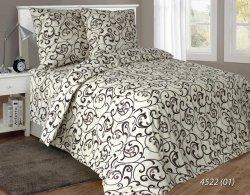 Pościel bawełniana 160x200 Ecru Żakard Luxury 100% bawełna. Pościel Żakardowa 160x200