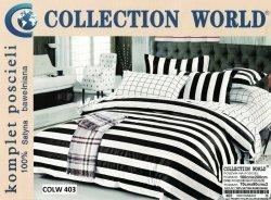 Pościel Cllection World 160x200 100% bawełna wz 403