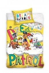 Pościel dla dzieci 100x135 Psi Patrol dla chłopca 100% bawełna Carbotex Patrol 135
