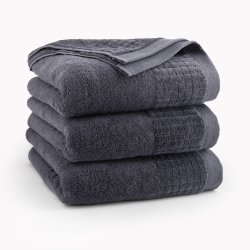Ręcznik kąpielowy 70x140 Grafitowy Paulo - Zwoltex