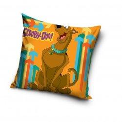 Poszewka Scooby-Doo 40x40 cm Carbotex 100% bawełna. Poszewka dla dzieci Scooby - Doo - Pomarańczowa