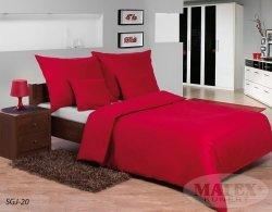 Pościel dwustronna satynowa Czerwona Matex Gold 160x200 100% bawełna wz SGJ20