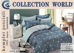 Pościel Collection World 200x220 100% bawełna wz 668