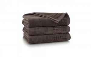 Ręcznik kąpielowy Zwoltex 50x100 Paulo 3 - Taupe - Bawełna Egipska.
