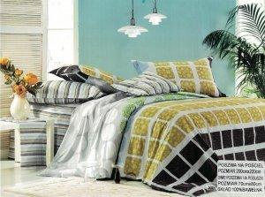 Pościel Collection World 200x220 Kolorowa 100% bawełna wz 322