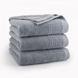 Ręcznik kąpielowy 50x90 Jasny Grafit Paulo - Zwoltex
