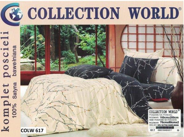Dwustronna pościel Collection World 160x200 wz 617