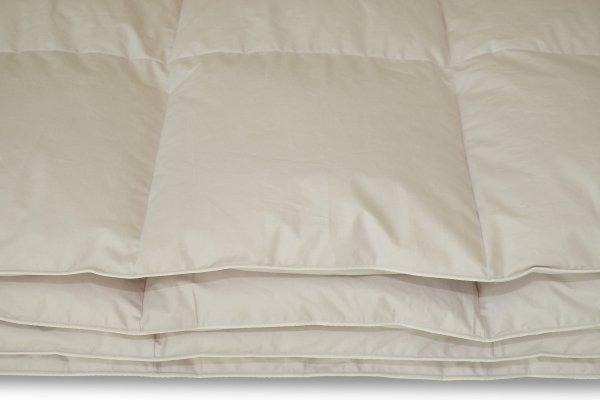 Kołdra puch gęsi biały 140x200- Polpuch