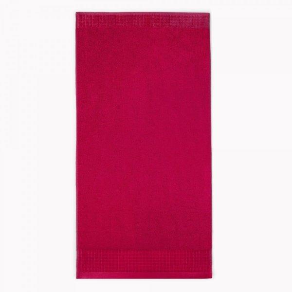 Ręcznik 50x90 100% bawełna - Czerwony Paulo