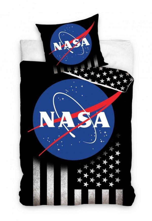 Czarna pościel NASA 160x200 - Carbotex