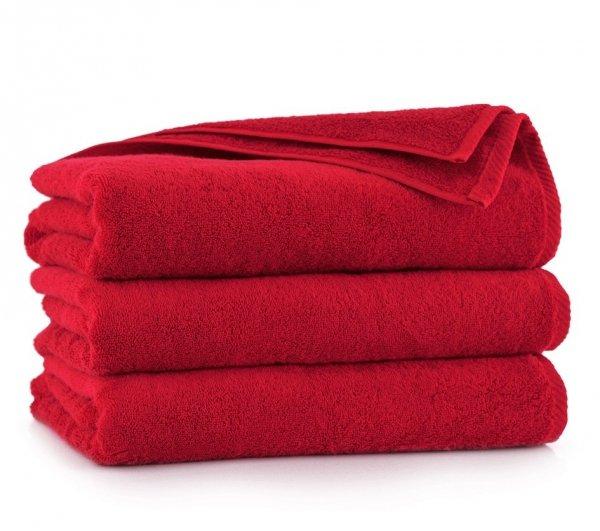 Ręcznik KIWI 70x140 Czerwony - Bawełna Egipska
