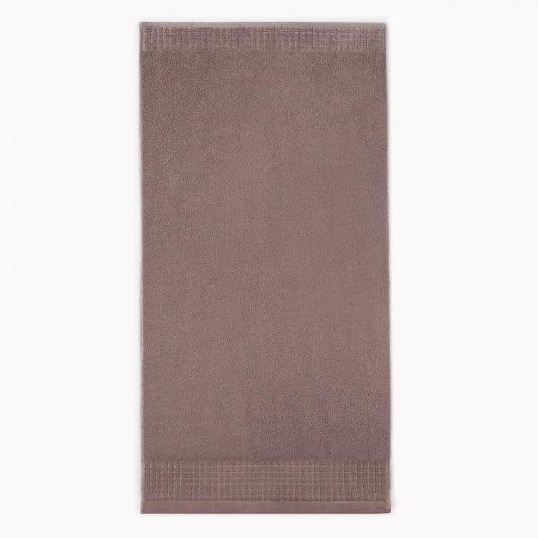 Ręcznik kąpielowy 50x90 Ecru Cynamonowy Zwoltex