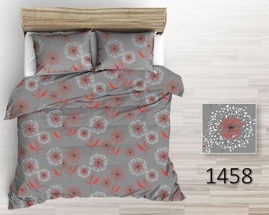 Szara pościel z flaneli 160x200, Tęcza wzór 1458