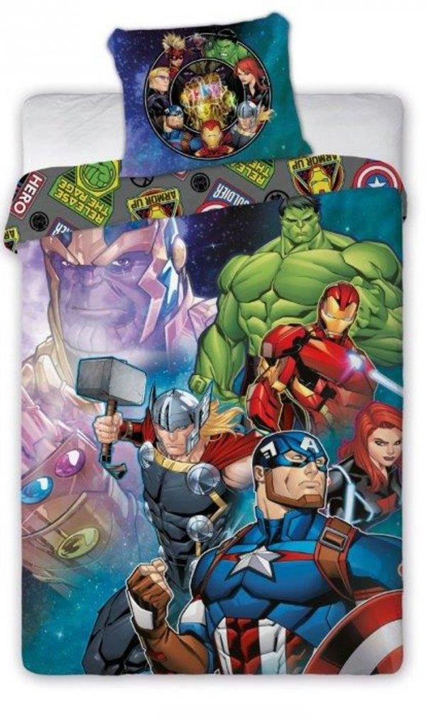 pościel Avengers 160x200 - Faro - 100% bawełna
