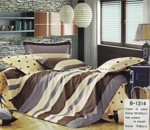 Pościel Mengtianzi 180x200 Grochy 100% bawełna B-1314