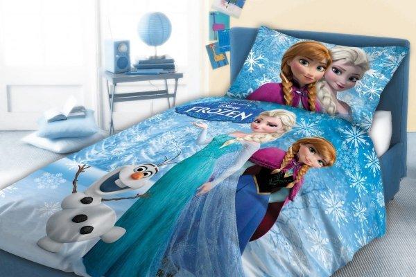Pościel dla dzieci Kraina Lodu - Frozen160x200 Faro 100% bawełna