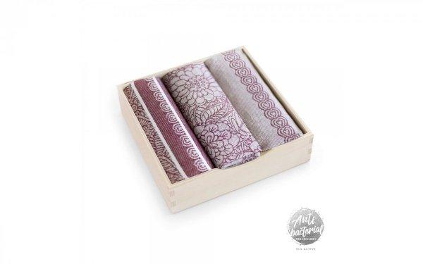 Komplet antybakteryjnych ścierek kuchennych Zwoltex Kaskada