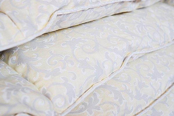 Poduszka półpuch 50x60 cm Ecru Żakard. Poduszka Polpuch