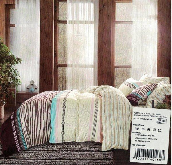 Kolorowa pościel Cotton World 160x200 - Kolorowa wz 506