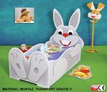 Łóżko dziecięce Zając