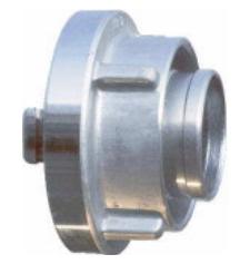 Łącznik do węża 42 mm z kutego aluminium (para)